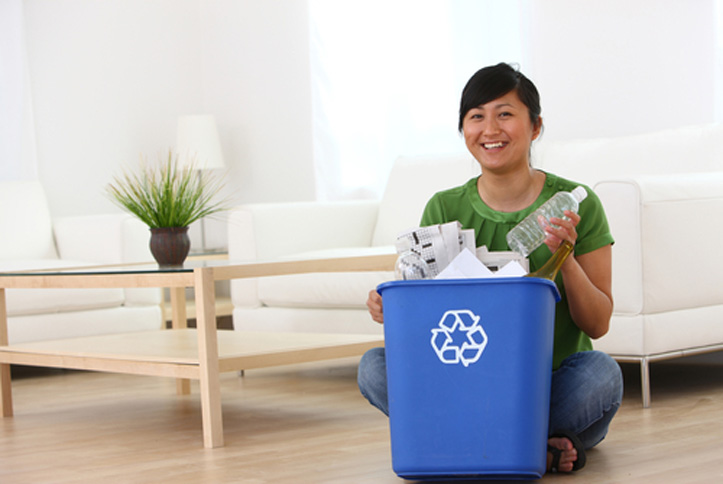 start recycling at home